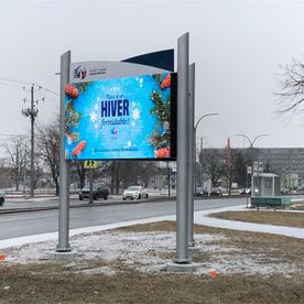 City of St-Jean-sur-Richelieu Digital Display