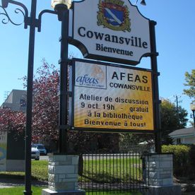 Cowansville City Digital Display